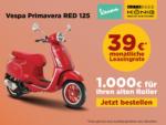 Autohaus Gotthard König Vespa Primavera in rot unschlagbar günstig! - bis 16.07.2021