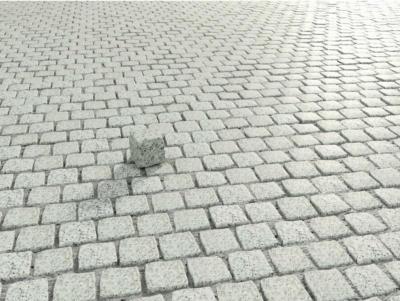 Granit-Pflaster lose Hellgrau 9 cm x 9 cm x 9 cm