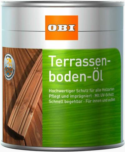 OBI Terrassenboden-Öl Naturbraun 2,5 l