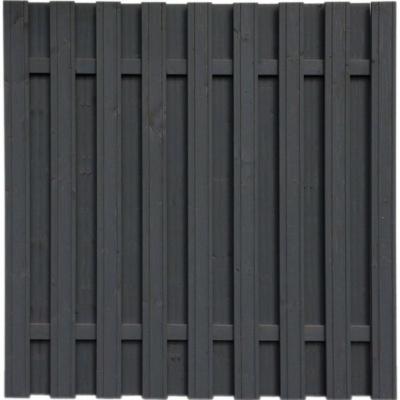 Sichtschutzzaun-Element Seattle Anthrazit 180 x 180 cm