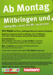 Feneberg Feneberg: Mitbringen und 20% sparen! - bis 14.07.2021