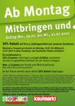 Feneberg Feneberg: Mitbringen und 20% sparen! - bis 21.07.2021