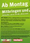 Feneberg Feneberg: Mitbringen und 20% sparen! - bis 28.07.2021