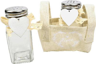 Dekorieren & Einrichten Salz- und Pfefferstreuer 3tlg