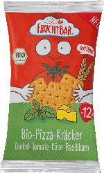 FruchtBar Kindersnack Dinkel-Kräcker, Tomate, Paprika, Käse, Basilikum, ab 12 Monaten