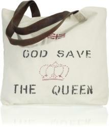 Handtasche in  Beige 'Queen' ca.50x40cm
