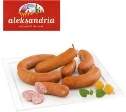 Geräucherte Wurst zum Grillen nach polnischem Rezept, mittelgrob