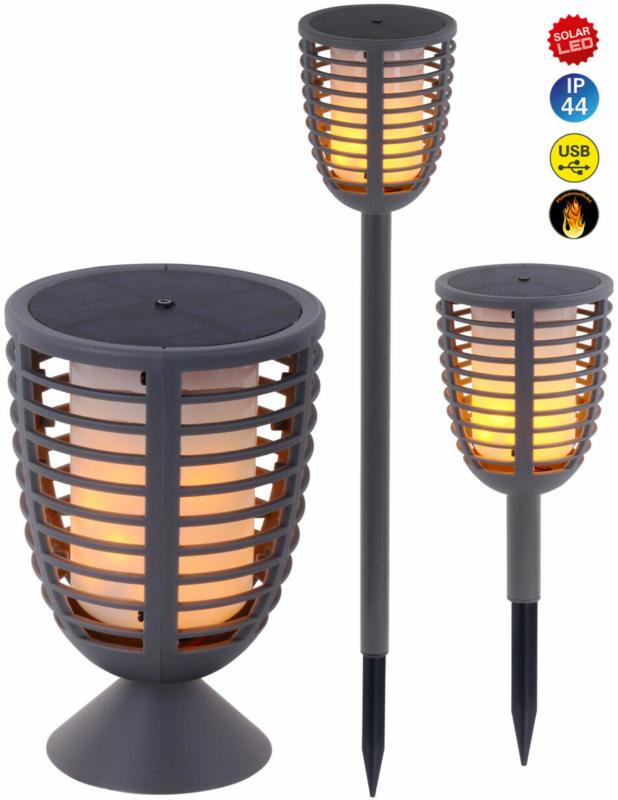 Fackel LED-Solar 3 in 1
