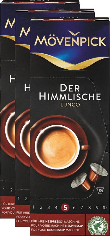 Capsules de café Mövenpick, Le Divin, 3 x 10 capsules