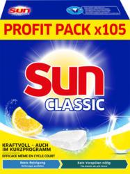 Sun 1 in 1 Classic Lemon, 105 Tabs