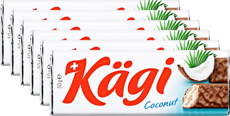 Kägi-fret Coconut, 6 x 50 g