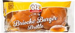 Panini brioche per burger Ölz, 4 pezzi, 200 g