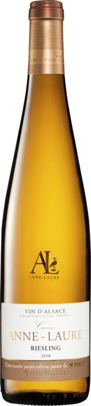 Cuvée Anne-Laure Riesling Vin d'Alsace AOP, 2020, Alsace, France, 75 cl