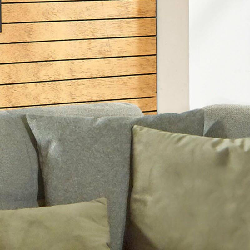 Kissen - olive - Flachgewebe - 55x55 cm