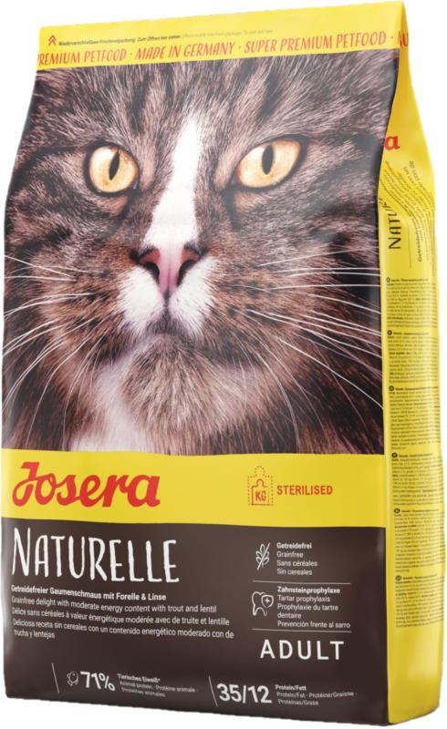 Josera Trockenfutter Naturelle Sterilised Adult getreidefrei 2kg