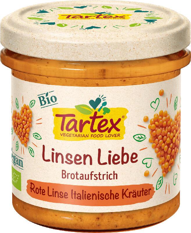 Tartex Aufstrich,  rote Linse & italienische Kräuter