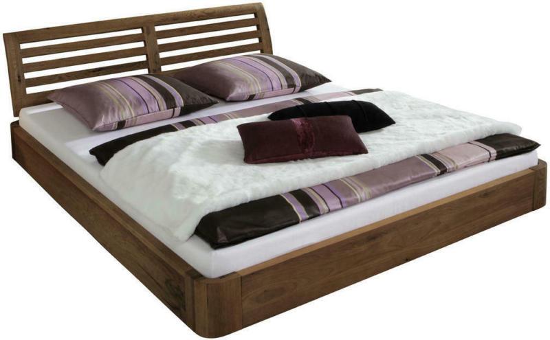 Bett 160/200 cm in Eichefarben