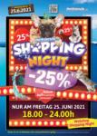 Petfriends.ch NUR HEUTE: Shopping Night! - bis 25.06.2021