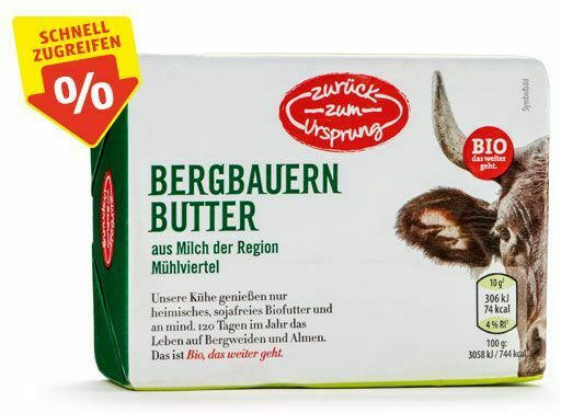 ZURÜCK ZUM URSPRUNG BIO-Bergbauernbutter