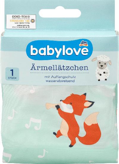 babylove Ärmellätzchen Fuchs