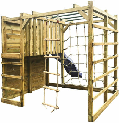 Holzspielturm Cubic Sigma