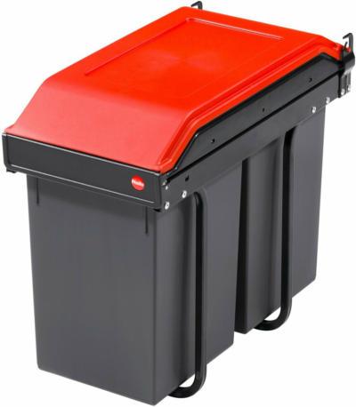 Hailo Einbau-Mülleimer Multi Box 2 x 14 l