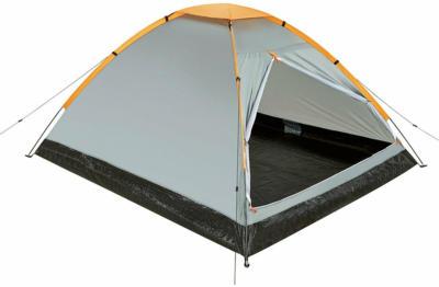 2 Personen Kuppel-Zelt 200 x 120 x 90 cm mit Belüftung und Mückennetz