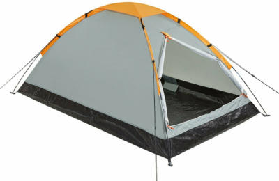 3 Personen Kuppel-Zelt 200 x 180 x 120 cm mit Belüftung und Mückennetz