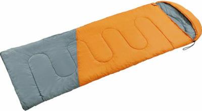 Schlafsack mit moderner Steppung und Aufbewahrungshülle