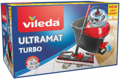 Vileda Bodenwischer-Set EasyWring Ultramat Turbo
