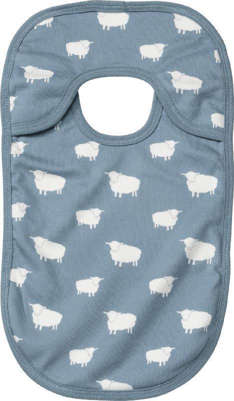 ALANA Baby Lätzchen, in Bio-Baumwolle, blau