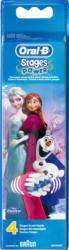 Oral-B Testine di ricambio, Kids Frozen, 4 pezzi