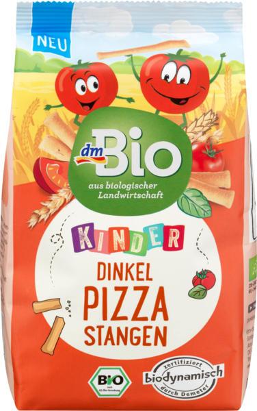 dmBio Kindersnack Dinkel Pizza Stangen, ab 3 Jahren