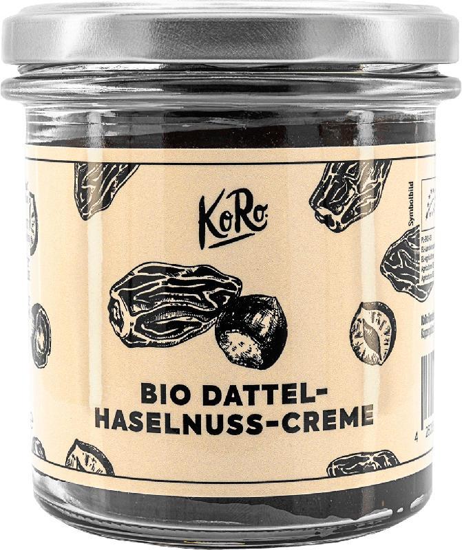 KoRo Aufstrich, Dattel-Haselnuss-Creme
