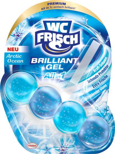 WC-Frisch WC-Reiniger Brilliant Gel Arctic Ocean