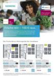 Siemens Frische rein – 100 € raus. - bis 31.07.2021