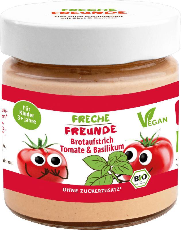 Freche Freunde Brotaufstrich Tomate & Basilikum ab 3 Jahren