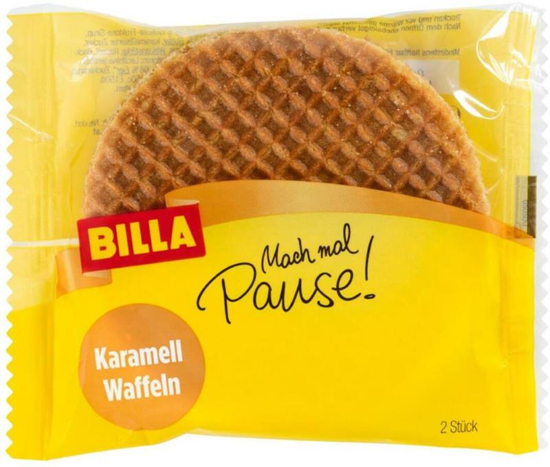 BILLA Mach mal Pause! Karamellwaffeln