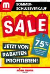 MÖBEL MARTIN Möbel Martin Sommerschlussverkauf bis zu 75%* Rabatt sichern - bis 21.07.2021