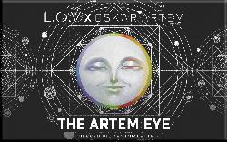 L.O.V Lidschattenpalette OSKAR ARTEM The Artem Eye Pressed Pigment