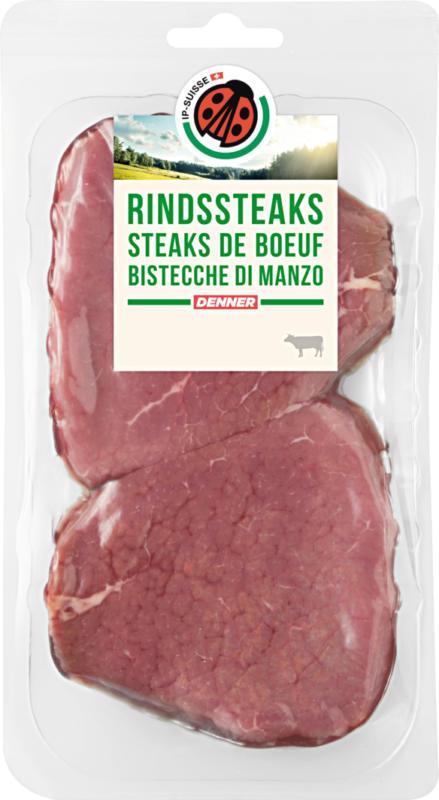 Bistecca di manzo IP-SUISSE, 2 x ca. 150 g, per 100 g