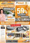 Möbel Weirauch GmbH Kollektionsabverkauf Endspurt - bis 01.08.2021