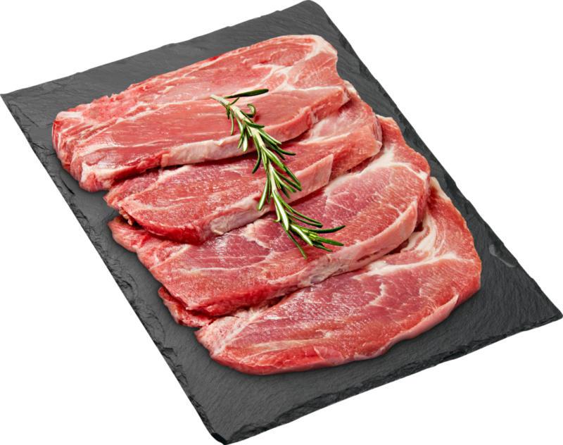 Bistecca di maiale BBQ Denner, al naturale, Svizzera, 4 pezzi, ca. 640 g, per 100 g