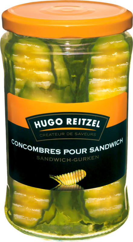 Hugo Reitzel Sandwich-Gurken, 190 g