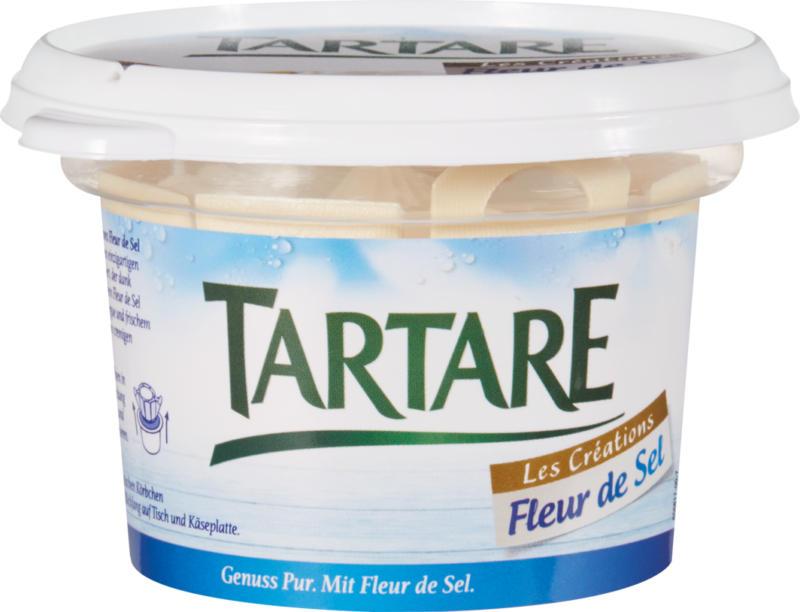 Fromage frais Les Créations Tartare, Fleur de Sel, 2 x 150 g