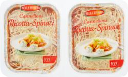 Bella Riviera Cannelloni, Ricotta und Spinat, 2 x 400 g