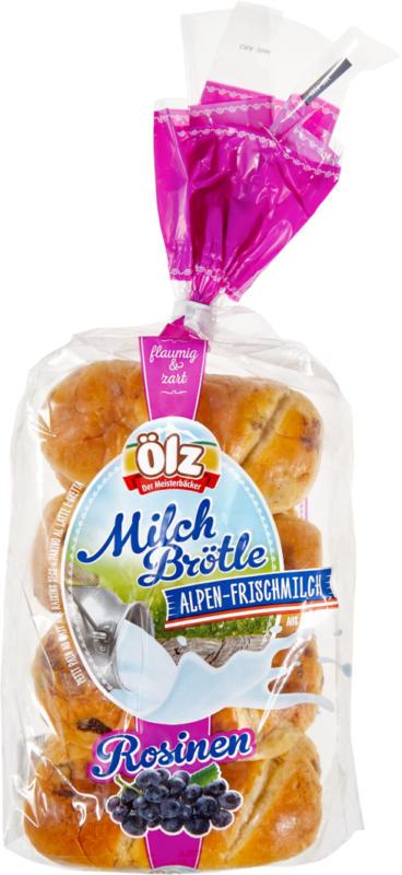 Petits pains au lait aux raisins Ölz, 320 g