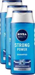 Shampooing de soin Strong Power Nivea, 3 x 250 ml