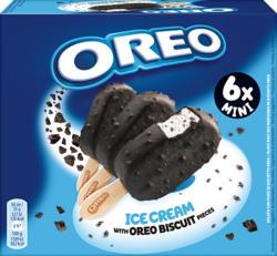 Oreo Ice Cream Stick Mini , 6 x 50 ml