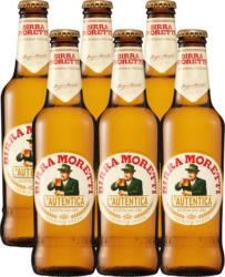 Moretti Bier, 6 x 33 cl
